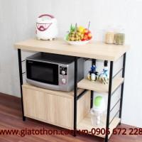 Tủ bếp gỗ tự nhiên