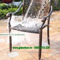 bàn ghế nhôm sân vườn