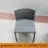 mẫu bàn ghế nhựa giả mây