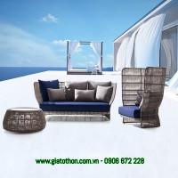 nội thất nhựa mây bền