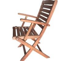 Ghế gỗ có tay vịn đơn giản nhưng đẹp- bền