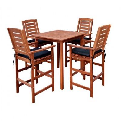 Bàn ghế gỗ cứng