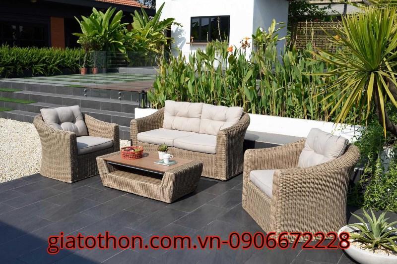 bộ sofa cong đẹp