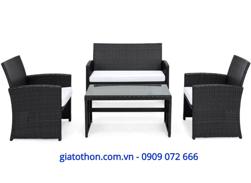 BỘ SOFA NHỰA MÂY 4 CHI TIẾT, ghế nhập khẩu, chuyên nhập khẩu phân phối bàn ghế cao cấp, bàn ghế ngoài trời cao cấp, bàn ghế cao cấp, chuyên bàn ghế sân vườn cao cấp, bàn ghế ngoài trời cao cấp, nội thất nhập khẩu, sản phẩm nội thất nhập khẩu, nội thất nhập khẩu cao cấp,