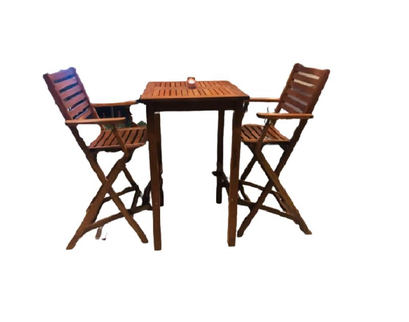 Bàn ghế gỗ Cafe sang trọng - lãng mạn