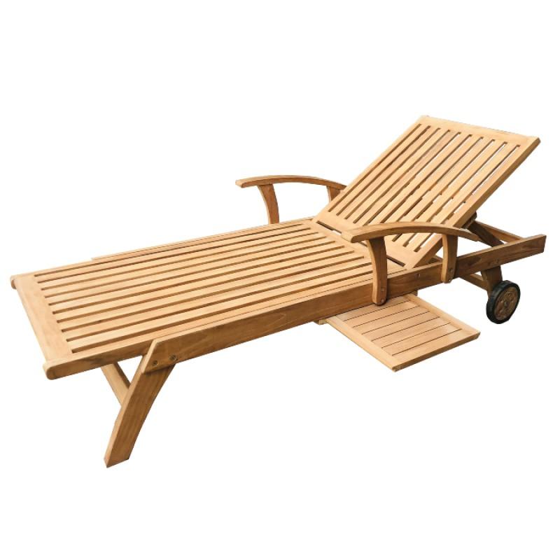 Ghế tắm nắng Gỗ 2